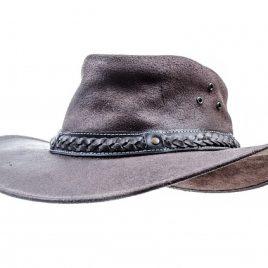 Leather Cowboy Hat